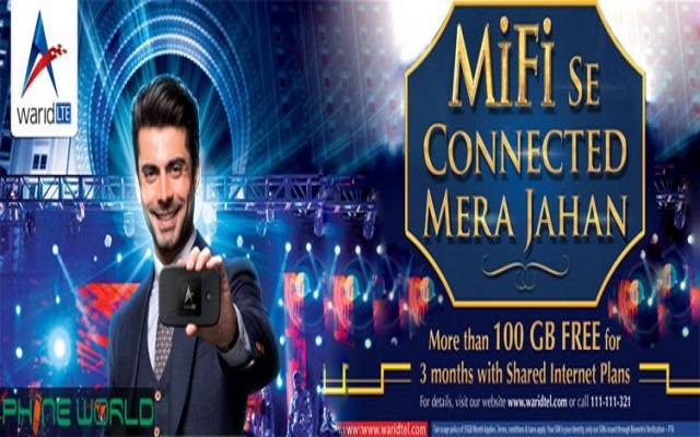 Warid 4G LTE launches the industry's first Shared Plans and MiFi Device