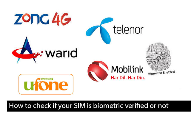 How to check if your SIM is biometric verified or not