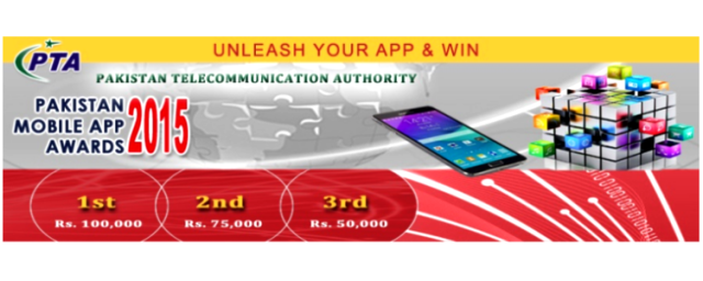 PTA Launches Pakistan Mobile App Awards 2015