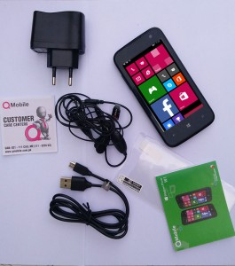 QMobile Windows Phone W1 Review