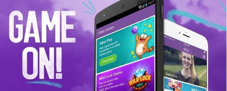 Viber Introduces Free Mobile Games Platform