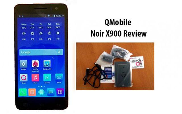 QMobile noir X900 Low Review