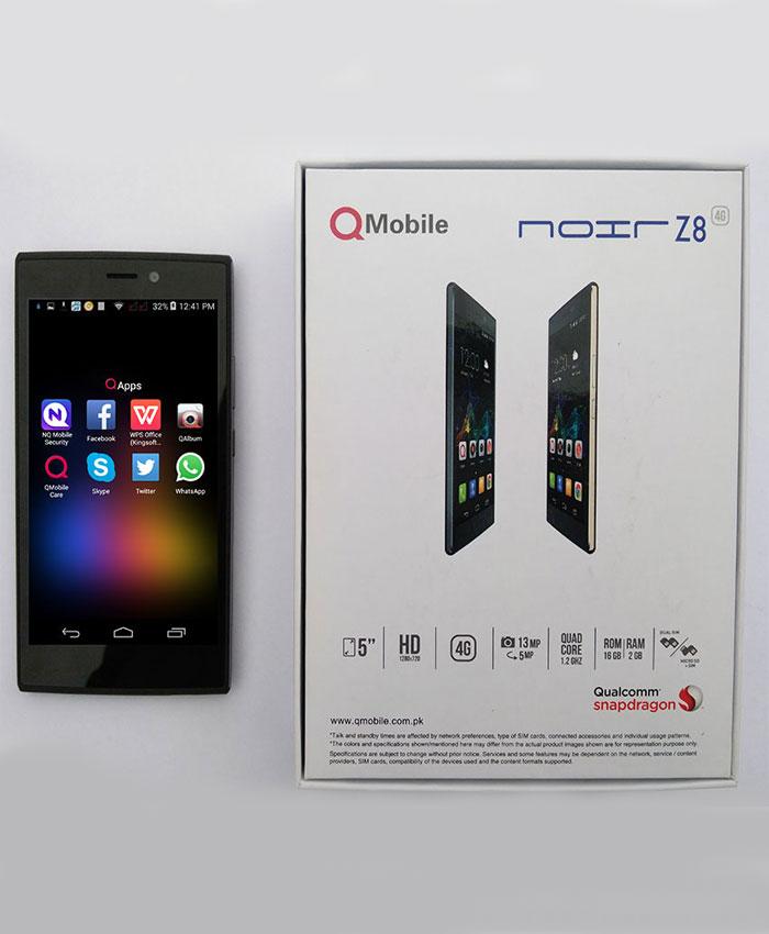 QMobile Noir Z8 Review