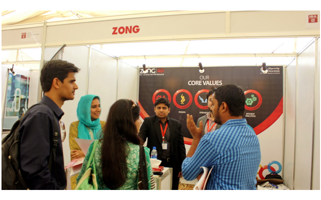 Zong HR Meets Potential Employees at LUMS & IBA