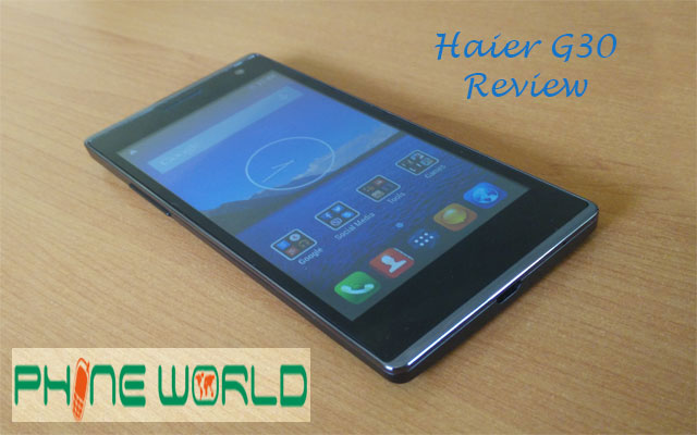 Haier G30 Review