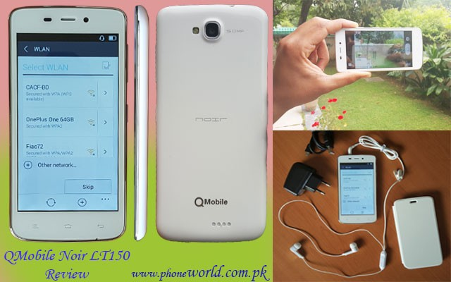 QMobile Noir LT150 Review