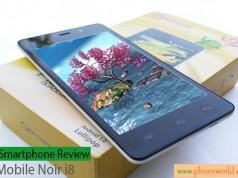 QMobile Noir i8 Review