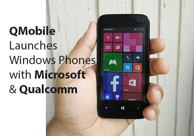 Photo of QMobile Launches Windows Phone with Microsoft and Qualcomm