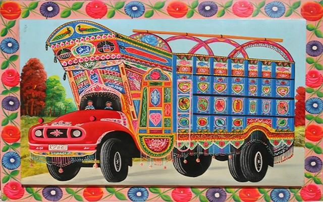 Revival of Truck art
