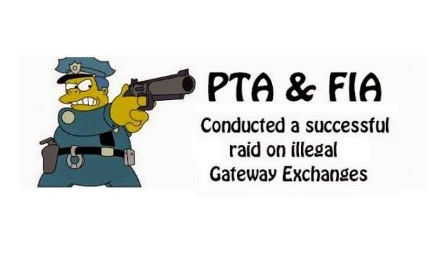 Illegal Gateway Exchanges