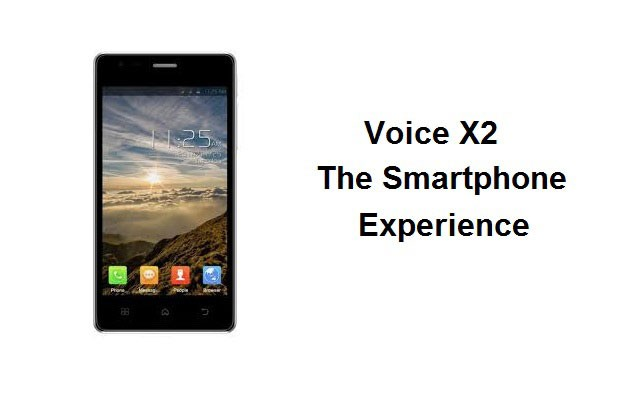 Voice X2 the Smartphone Experience with Qualcomm Processor