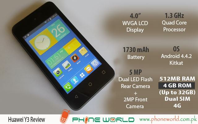 Huawei Y3 Review Phoneworld