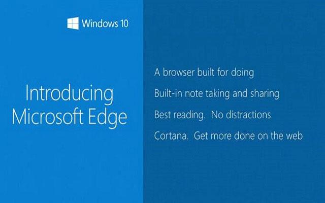 Microsoft Announces New Browser-Microsoft Edge