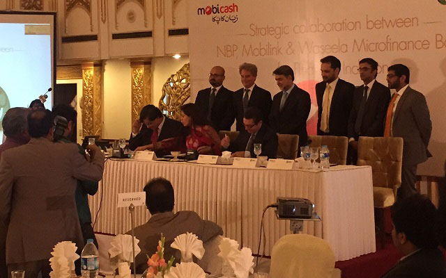Mobilink and National Bank of Pakistan Signs a Strategic Agreement