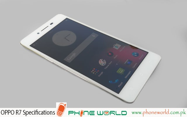 Oppo R7 Specifications