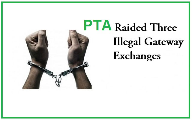 Three Illegal Gateway Exchanges Raided in Lodhran
