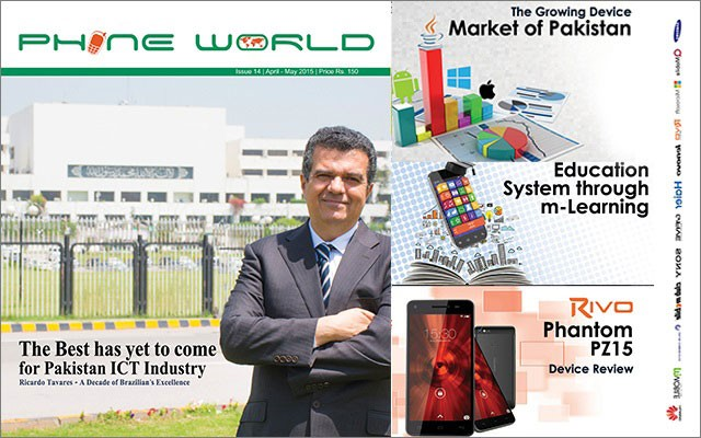 April-May, 2015 Issue of Phone World Magazine