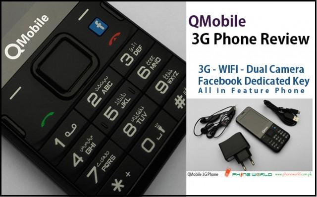 QMobile 3G Phone
