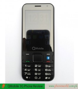 QMobile 3G Phone Review