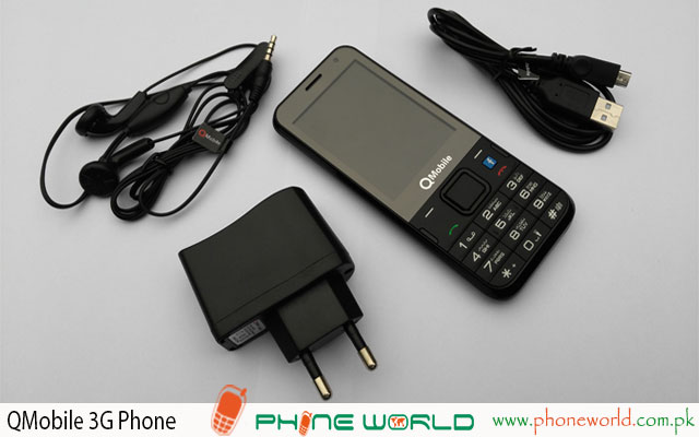 QMobile 3G Phone Specifications