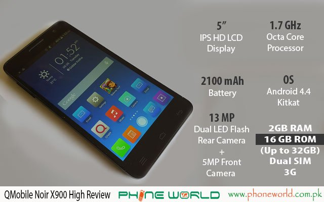 QMobile Noir X900 High Review