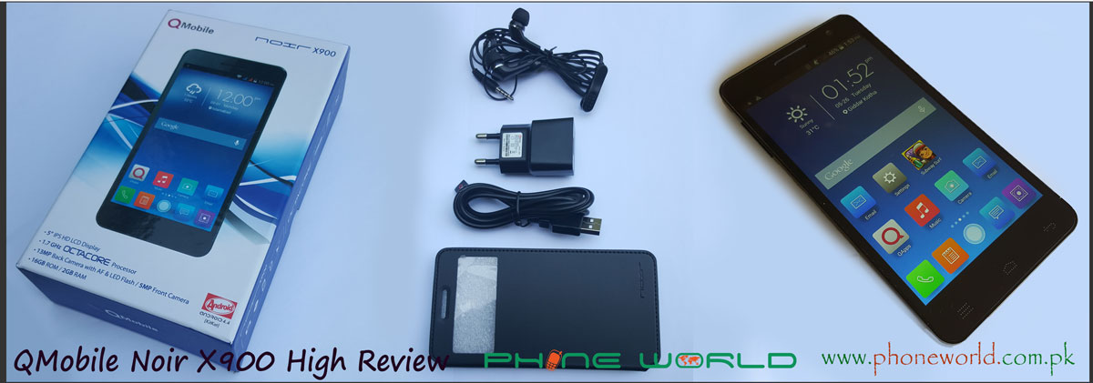 QMobile Noir X900 High Review