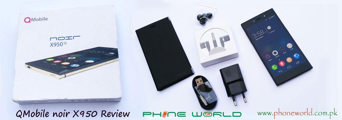 QMobile Noir X950 Review