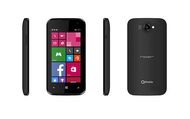Qmobile Announces W1 with Windows Phone 8.1