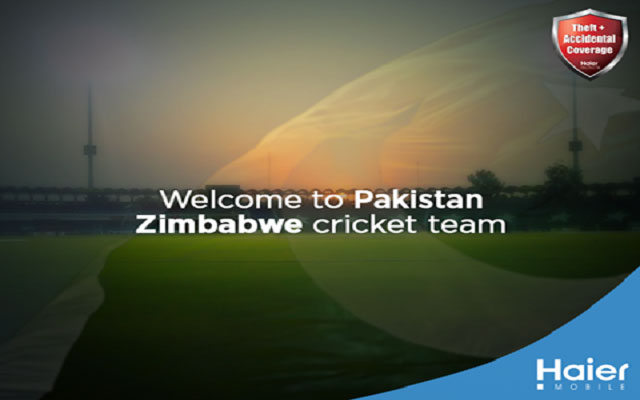 Haier Mobile Sponsors Pakistan Zimbabwe Cricket Series