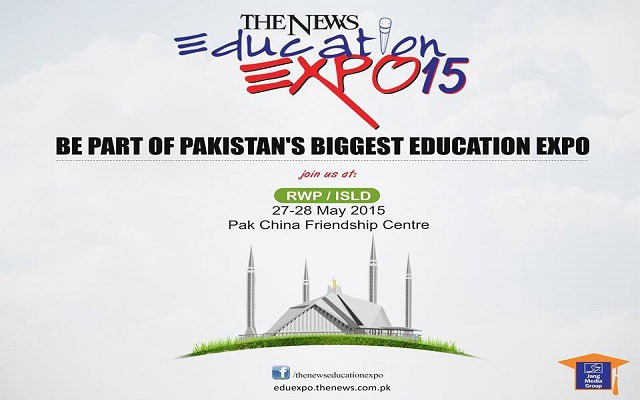 The News Education Expo 2015 Ended with Great Success in Islamabad