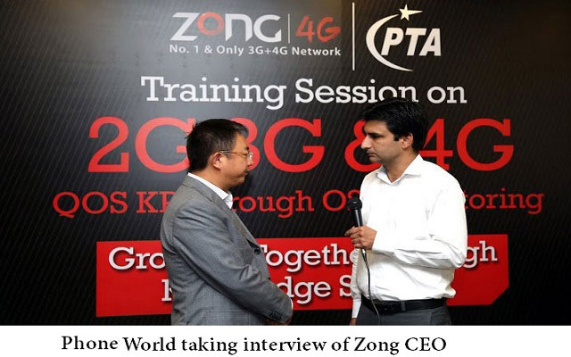 Zong CEO Shared his Telecom Vision for Pakistan