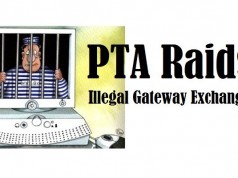 Illegal Gateway Exchange Raided in Mirpur (AJ&K)