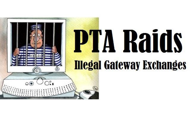 Illegal Gateway Exchange Raided in Mirpur (AJ&K)