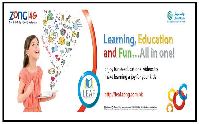 Zong Leaf: A Mobile Portal to Make Learning Fun & Exciting