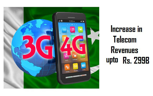 3G, 4G Services Boost Telecom Revenues to Rs. 299 Billion; Pakistan Observer