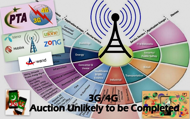 Further 3G/4G Auction May Get delayed