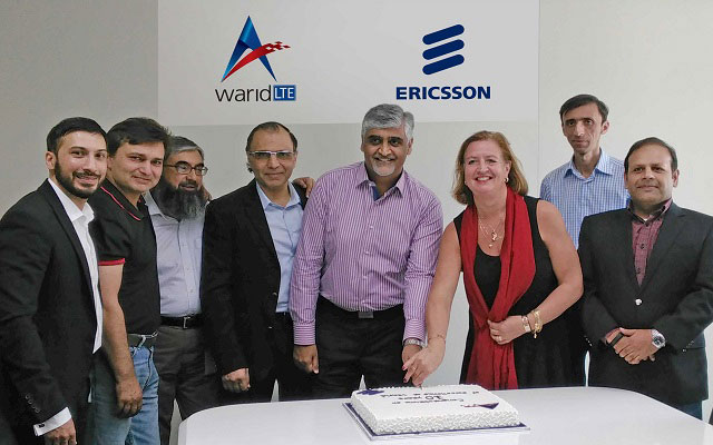 Ericsson Congratulates Warid Telecom on 10th Anniversary