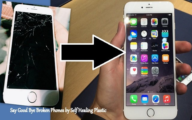 Innovation: New Self-Healing Plastic Reforms Cracked Phones for You