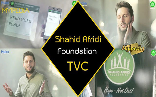 Haier Mobile-Shahid Afridi Foundation Ramzan TVC 2015