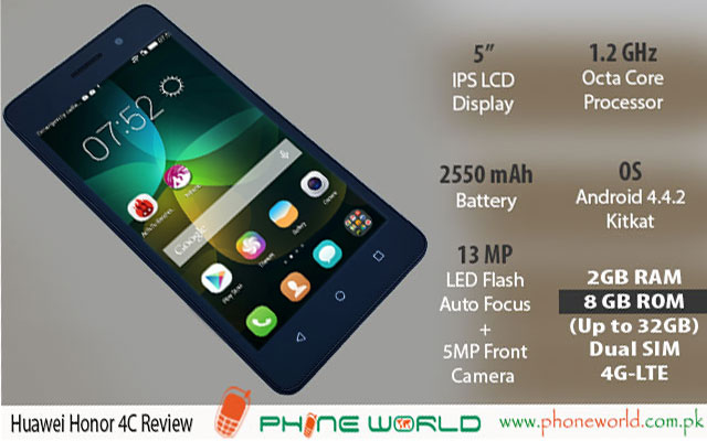 Huawei Honor 4c Review Phoneworld