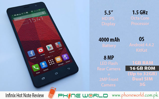 Infinix Hot Note Review - PhoneWorld