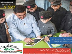 KPK Government Distributes 2527 Tablets among School Teachers