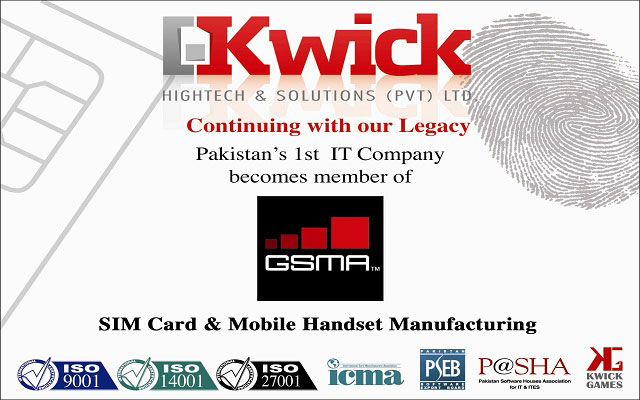 Kwick High Tech & Solutions (Pvt) Ltd Joins GSM Association