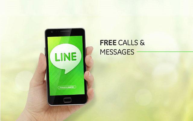 LINE Messenger TVC Series 2015