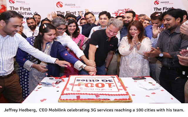 Mobilink Becomes First Telco to Expand 3G Network to 100 Cities