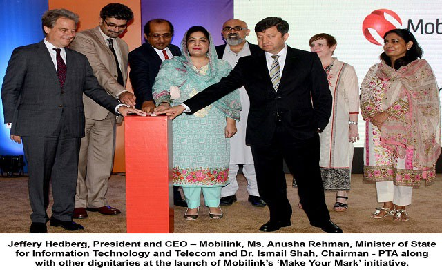Mobilink has Launched 'Make Your Mark' as its Flagship Corporate Responsibility Initiative