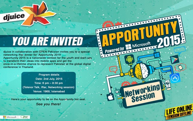 Telenor djuice to Organize Apportunity 2015 Event