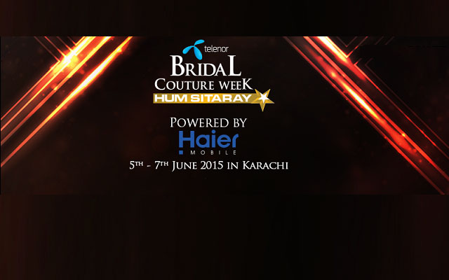 Haier Mobile and Telenor Sponsors Bridal Couture Week 2015