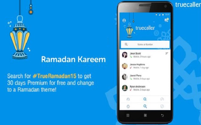 Truecaller Offers Free Services During Ramadan
