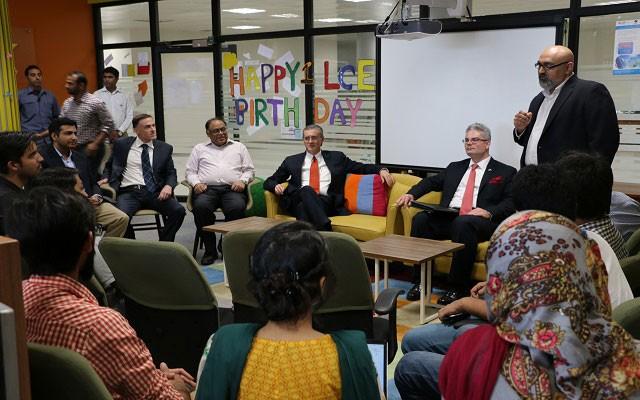 US Ambassador to Pakistan Visits LUMS Center for Entrepreneurship